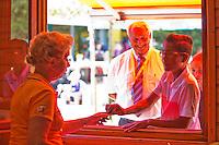 Netherlands, Dordrecht, August 03, 2015, Tennis,  National Junior Championships, NJK, TV Dash 35, Tournament control<br /> Photo: Tennisimages/Henk Koster