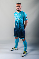 Friday  15 July 2016<br />Pictured: Leon Britton of Swansea City <br />Re: Swansea City FC  Joma Kit photographs for the 2016-2017 season