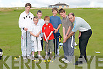 COACHED: At Tralee Golf Club Summer Camp in Barrow on Thursday six young future golfers got into the swing of things as David Power coached them to improving their golfing skills. They were, Kevin Foley, Cillian Hennessy and James Mannix (Tralee), Patrick Gilbert (Lixnaw), John Moran and Richard Hayman (Tralee)..