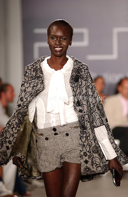 WWW.ACEPIXS.COM . . . . . ....NEW YORK, SEPTEMBER 10, 2005....Alec Wek at the Sony Playstation Portable 'Pret a PSP' Fashion Show held at Skylight Studio.....Please byline: KRISTIN CALLAHAN - ACE PICTURES.. . . . . . ..Ace Pictures, Inc:  ..Craig Ashby (212) 243-8787..e-mail: picturedesk@acepixs.com..web: http://www.acepixs.com