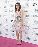 Emmy Rossum attends 2015 Film Independent Spirit Awards held at Santa Monica Beach in Santa Monica, California on February 21,2015                                                                               © 2015Hollywood Press Agency