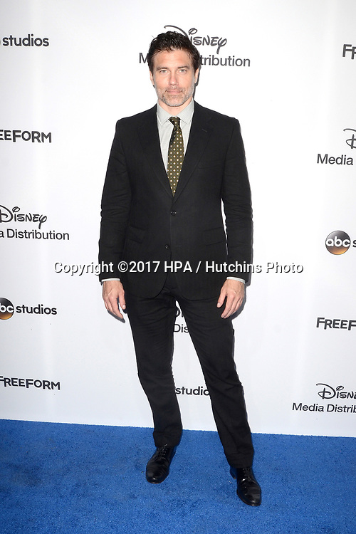 LOS ANGELES - MAY 21:  Anson Mount at the 2017 ABC/Disney Media Distribution International Upfront at the Walt Disney Studios on May 21, 2017 in Burbank, CA