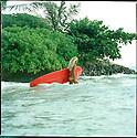 Hanalei Reponty on the East Coast of Oahu, Hawaii.