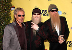 ZZ Top Frank Beard, Dusty Hill and Billy Gibbons