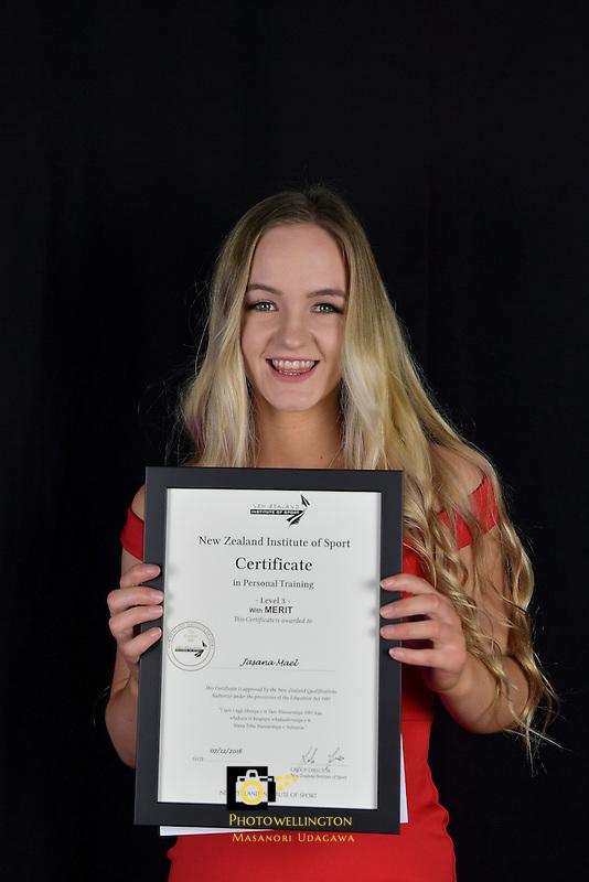 NZIS Graduation at Shed 6, Wellington, New Zealand on Wednesday 7 December 2016.<br /> Photo by Masanori Udagawa. <br /> www.photowellington.photoshelter.com.