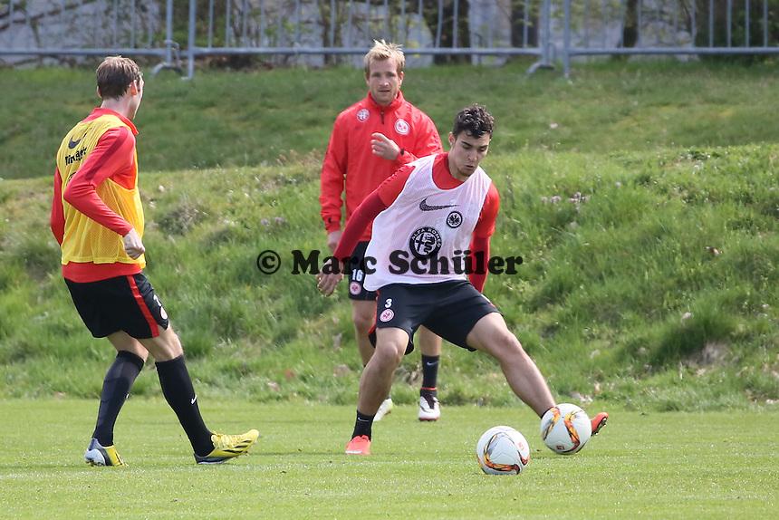 Stefan Reinartz, Kaan Ayhan, Stefan Aigner - Eintracht Frankfurt Training, Commerzbank Arena