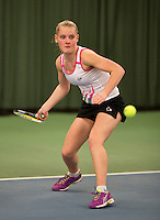 March 13, 2015, Netherlands, Rotterdam, TC Victoria, NOJK, Suzan Lamens (NED)<br /> Photo: Tennisimages/Henk Koster