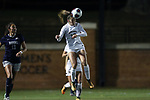 WINSTON-SALEM, NC - NOVEMBER 10: Wake Forest's Estelle Laurier (FRA). The Wake Forest University Demon Deacons hosted the Georgetown University Hoyas on November 10, 2017 at W. Dennie Spry Soccer Stadium in Winston-Salem, NC in an NCAA Division I Women's Soccer Tournament First Round game. Wake Forest advanced 2-1 on penalty kicks after the game ended in a 0-0 tie after overtime.