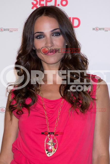 06.09.2012. Vogue Fashion&acute;S Night Out Madrid. In the image Nerea Garmendia (Alterphotos/Marta Gonzalez) /NortePhoto<br />  **CREDITO*OBLIGATORIO** *No*Venta*A*Terceros* *No*Sale*So*third* ***