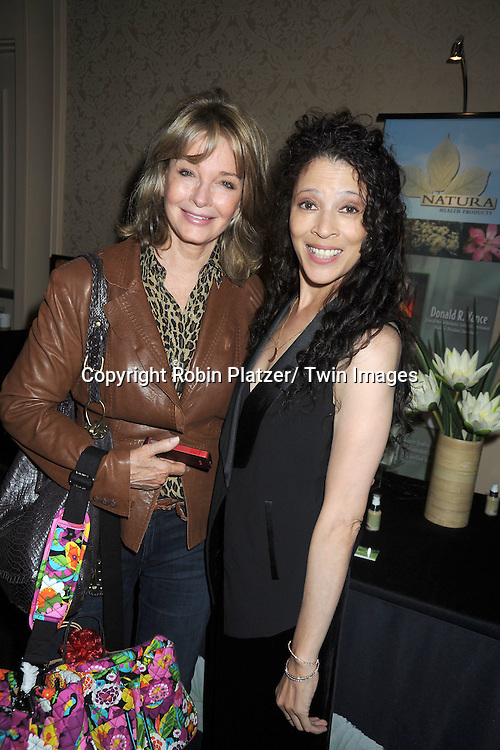 Deidre Hall and Tai Babalonia attends the Daytime Emmy Gift Suite on June 232, 2012 at the Beverly Hilton Hotel in Beverly Hills, California. Off thewallgifts.com set up the suite.