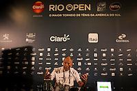 RIO DE JANEIRO, RJ, 20.02.2015 - RIO OPEN 2015 - Nick Bollettieri, um dos maiores treinadores da história do tênis concede entrevista coletiva durante o torneio internacional de tênis Rio Open 2015, na tarde desta sexta-feira, 20. O torneio realiza-se de 16 a 22 de fevereiro, no Jockey Club Brasileiro, zona sul da cidade. (Foto: Gustavo Serebrenick/Brazil Photo Press)