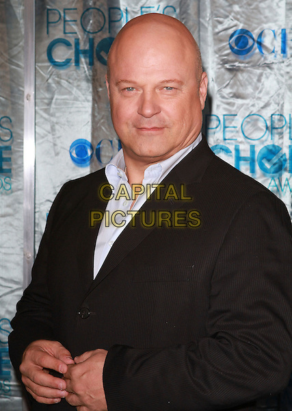MICHAEL CHIKLIS .2011 People's Choice Awards held at Nokia Theatre L.A. Live, Los Angeles, California, USA, 5th January 2011..half length black jacket .CAP/ADM/KB.©Kevan Brooks/AdMedia/Capital Pictures.