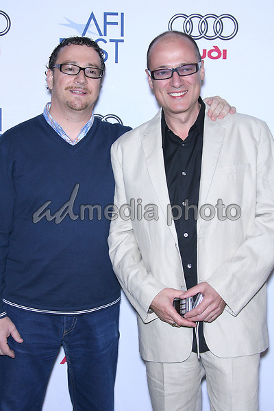 "11 November 2006 - Hollywood, California - Gary Shoefield and Ray Santill.  AFI Fest 2006 by Audi Presents ""Alien Autopsy"" Los Angeles Premiere - Arrivals held at the ArcLight. Photo Credit: Zach Lipp/AdMedia"