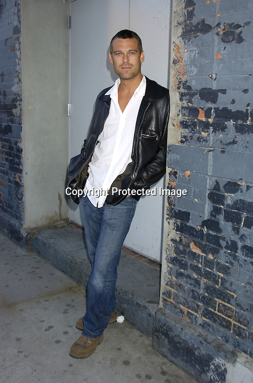 Grayson McCouch ..at the P and G Party for The Hot Men of As The World Turns and Guiding Light on April 21, 2005 at Crobar. ..The Party was planned by David Turtura and was filmed for his TV Show on The Discovery Channel. Some of the Soap Stars helped set up the party.           Photo by Robin Platzer, Twin Images