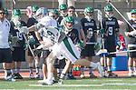 La Canada Flintridge, CA 03/16/13 - Clayton Read (St. Ignatius #29) in action during the De La Salle vs Coronado lacrosse game at St Francis High School.  De La Salle defeated Coronado 8-5.