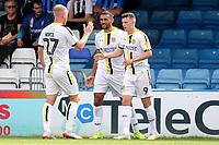 Nathan Broadhead (No 9) celebrates scoring Burton's opening goal during Gillingham vs Burton Albion, Sky Bet EFL League 1 Football at The Medway Priestfield Stadium on 10th August 2019