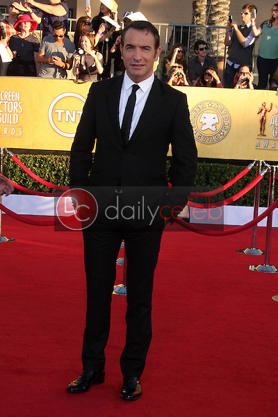 Jean Dujardin<br /> at the 18th Annual Screen Actors Guild Awards Arrivals, Shrine Auditorium, Los Angeles, CA 01-29-12<br /> David Edwards/DailyCeleb.com 818-249-4998
