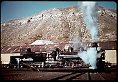 D&amp;RGW #478 K-28 on turntable at Durango.<br /> D&amp;RGW  Durango, CO