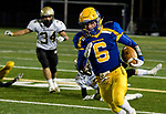 SEYMOUR, CT-112217JS07- Seymour's Bobby Melms (6) runs in for a 36-yard touchdown run during their game against Woodland Wednesday at Seymour High School. Seymour defeated the Hawks  56-8. Jim Shannon Republican-American