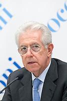 Mario Monti, Rettore dell'Università Bocconi. Milano, 11 ottobre 2011...Mario Monti, Rector of Bocconi University. Milan, October 3, 2011