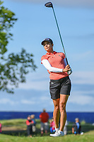 Azahara Munoz (ESP) watches her tee shot on 2 during the round 3 of the KPMG Women's PGA Championship, Hazeltine National, Chaska, Minnesota, USA. 6/22/2019.<br /> Picture: Golffile | Ken Murray<br /> <br /> <br /> All photo usage must carry mandatory copyright credit (© Golffile | Ken Murray)