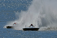 "Mark Weber, GNH-83 ""Blue Mule II, Cal Phipps, GNH-41  (Grand National Hydroplane(s)"