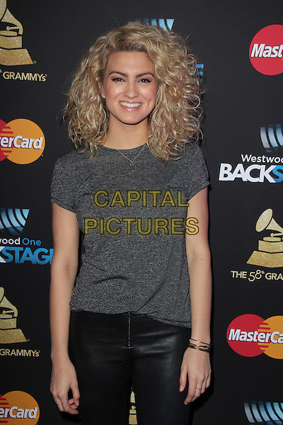 LOS ANGELES, CA - FEBRUARY 12: Tori Kelly at the 2016 Grammys Radio Row Day 1 presented by Westwood One, Staples Center, Los Angeles, California on February 12, 2016.   <br /> CAP/MPI/DE<br /> &copy;DE//MPI/Capital Pictures
