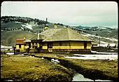Old station at Sargent.<br /> D&amp;RGW  Sargent, CO