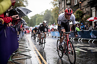 Nils Politt (DEU/Katusha-Alpecin)<br /> <br /> Elite Men Road Race from Leeds to Harrogate (shortened to 262km)<br /> 2019 UCI Road World Championships Yorkshire (GBR)<br /> <br /> ©kramon