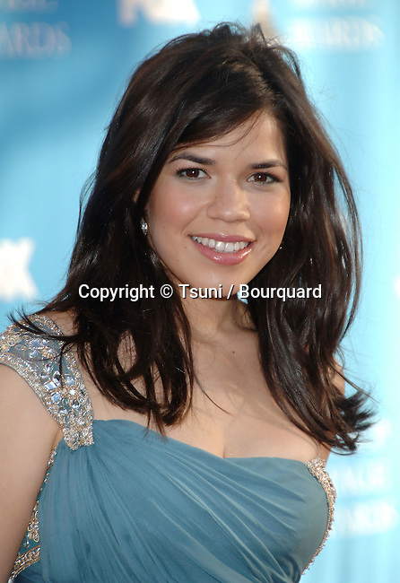 America Ferrera  at the NAACP Image Awards at the Shrine Auditorium In Los Angeles.<br /> <br /> headshot<br /> eye contact<br /> smile