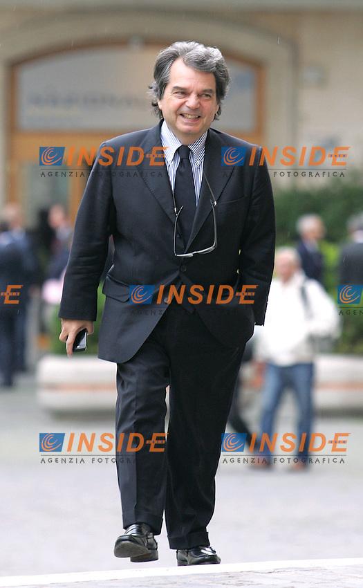 RENATO BRUNETTA<br /> Roma 27/04/2010 Relazione annuale del Presidente dell'INPS alla Sala della Lupa a Montecitorio.<br /> Photo Samantha Zucchi Insidefoto