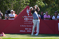 Louis Oosthuizen (RSA) on the 5th tee during Round 2 of the Abu Dhabi HSBC Championship 2020 at the Abu Dhabi Golf Club, Abu Dhabi, United Arab Emirates. 17/01/2020<br /> Picture: Golffile   Thos Caffrey<br /> <br /> <br /> All photo usage must carry mandatory copyright credit (© Golffile   Thos Caffrey)