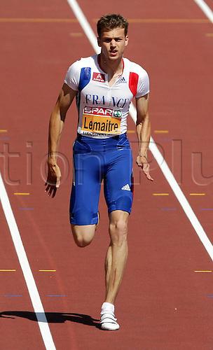 27 06 2012  Helsinki Athletics European Championships 2012 100 Metres Sprint Men Lead Christoph Lemaitre FRA Athletics