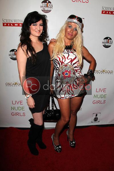 "Vikki Lizzi, Sabrina Parisi<br /> at the ""Live Nude Girls"" Los Angeles Premiere, Avalon, Hollywood, CA 08-12-14<br /> David Edwards/DailyCeleb.com 818-249-4998"
