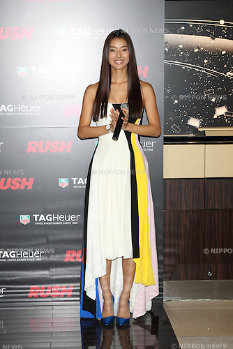 Sumire, Jan 30, 2014 : Sumire attends TAG Heuer Rush special event on 30 Jan 2014,Tokyo Japan