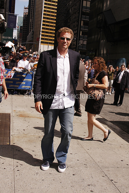 WWW.ACEPIXS.COM . . . . .  ....July 21 2008, New York City....Actor Will Ferrell made an appearance at the 'Late Show with David Letterman' at the Ed Sullivan Theatre on July 21 2008 in New York City....Please byline: AJ Sokalner - ACEPIXS.COM..... *** ***..Ace Pictures, Inc:  ..te: (646) 769 0430..e-mail: info@acepixs.com..web: http://www.acepixs.com