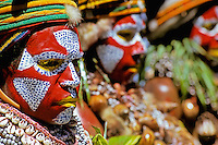 Papua New Guinea, Western Highlands Province, Mt. Hagen Cultural Show, women