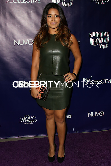 HOLLYWOOD, CA - FEBRUARY 18: Gina Rodriguez at the NUVOtv Series Launch Premiere Party held at Siren Studios on February 18, 2014 in Hollywood, California. (Photo by Xavier Collin/Celebrity Monitor)