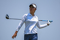 Danielle Kang (USA) watches her tee shot on 8 during round 1 of the 2019 US Women's Open, Charleston Country Club, Charleston, South Carolina,  USA. 5/30/2019.<br /> Picture: Golffile | Ken Murray<br /> <br /> All photo usage must carry mandatory copyright credit (© Golffile | Ken Murray)