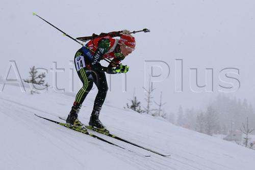 8th December 2017, Biathlon Centre, Hochfilzen, Austria; IBU Womens Biathlon World Cup;  Karolin Horchler