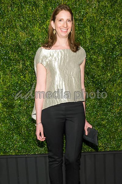 18 April 2016 - New York, New York- Drena Deniro. Chanel Artists Dinner at Tribeca Film Festival. Photo Credit: Mario Santoro/AdMedia