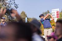 Samuel DEL VAL (ESP) during the third round of the Mutuactivos Open de Espana, Club de Campo Villa de Madrid, Madrid, Madrid, Spain. 05/10/2019.<br /> Picture Hugo Alcalde / Golffile.ie<br /> <br /> All photo usage must carry mandatory copyright credit (© Golffile | Hugo Alcalde)
