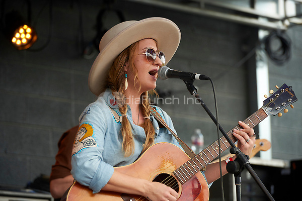 AUSTIN, TX - MARCH 18: Margo Price performs at the Rachael Ray Feedback party at Stubb's BBQ on March 18 in Austin, Texas during the 2017 South by Southwest music festival. Credit: Tony Nelson/MediaPunch