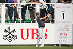Nicholas Fung of Malaysia tees off the first hole during the 58th UBS Hong Kong Golf Open as part of the European Tour on 08 December 2016, at the Hong Kong Golf Club, Fanling, Hong Kong, China. Photo by Marcio Rodrigo Machado / Power Sport Images