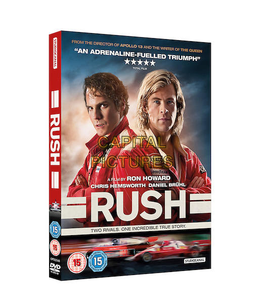 DVD RETAIL COVER ART<br /> in Rush (2013) <br /> *Filmstill - Editorial Use Only*<br /> CAP/NFS<br /> Image supplied by Capital Pictures