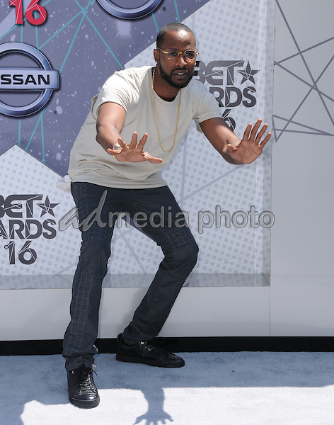 26 June 2016 - Los Angeles. Jackie Long. Arrivals for the 2016 BET Awards held at the Microsoft Theater. Photo Credit: Birdie Thompson/AdMedia
