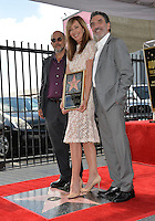 LOS ANGELES, CA. October 17, 2016: Richard Schiff &amp; Allison Janney &amp; Chuck Lorre at the Hollywood Walk of Fame Star ceremony honoring actress Allison Janney.<br /> Picture: Paul Smith/Featureflash/SilverHub 0208 004 5359/ 07711 972644 Editors@silverhubmedia.com