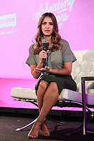 NEW YORK, NY - AUGUST 9:  Jessica Alba  at BlogHer18 Creators Summit on August 9, 2018 in New York City. <br /> CAP/MPI99<br /> &copy;MPI99/Capital Pictures