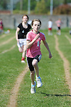 Erin Orr running in the girls under 12 one hundred meter event at the Louth Community Games Athletics Finals held at meadowview. Photo: Colin Bell/pressphotos.ie
