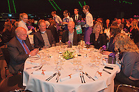 09-02-13, Tennis, Rotterdam, qualification ABNAMROWTT, Draw, Dinner being served